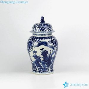 RZHM07 China good wish for kid pattern home decor porcelain jar