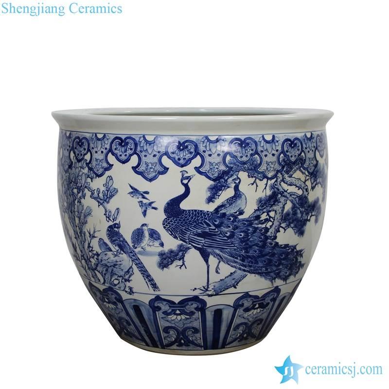 phoenix large ceramic pot