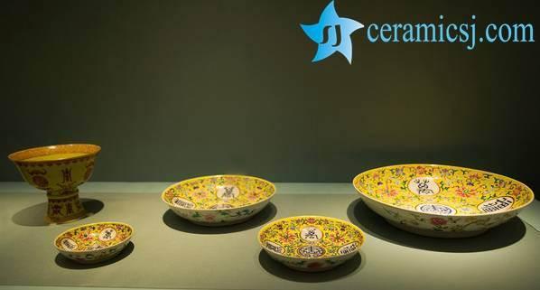 emperor yellow ceramics