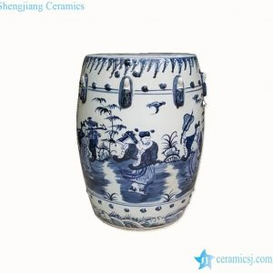 RZMo01-D Chinese eight lords pattern reproduction rest seat for sod