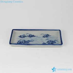 RZIQ07-ABC Tea ware showcase design ceramic tea ware holder