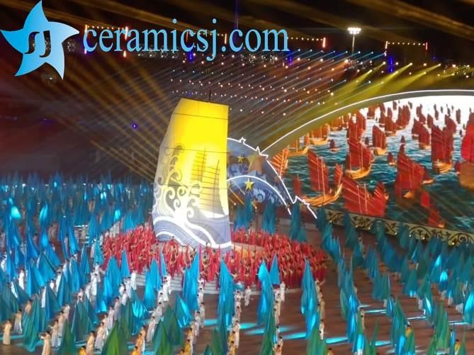 sport meeting of Jingdezhen ceramics town