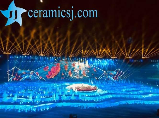 opening ceremony of Jingdezhen sport meeting
