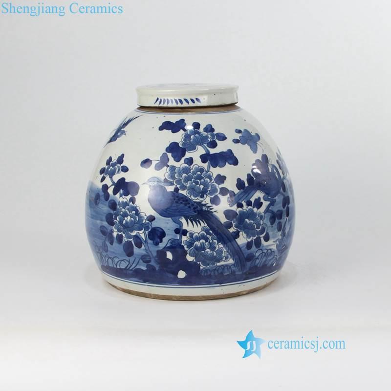 old ceramic jar