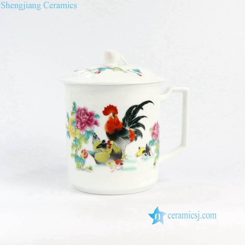 cock ceramic cup