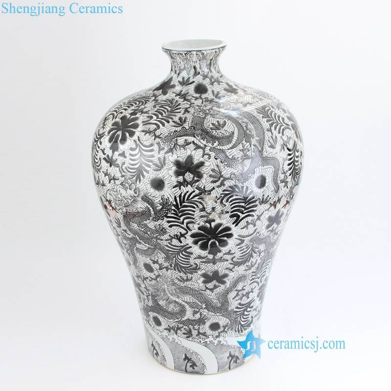 small mouth vase