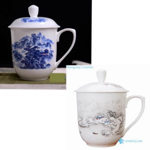 RZKX16-AB Ceramic drinking water cup from China
