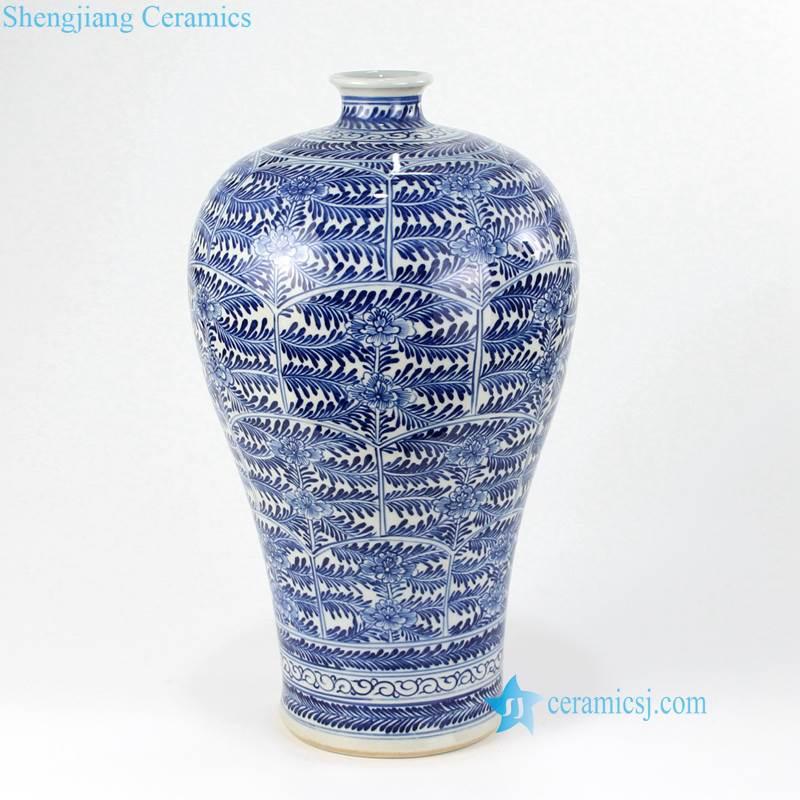 plump shoulder shape ceramic vase