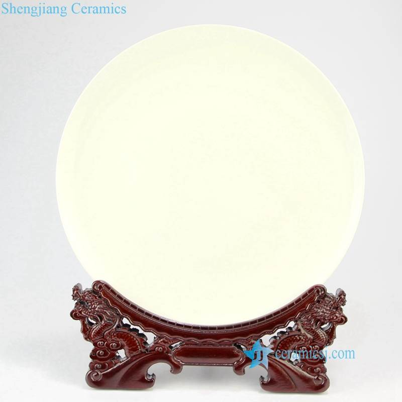 wooden plate rack carving dragon