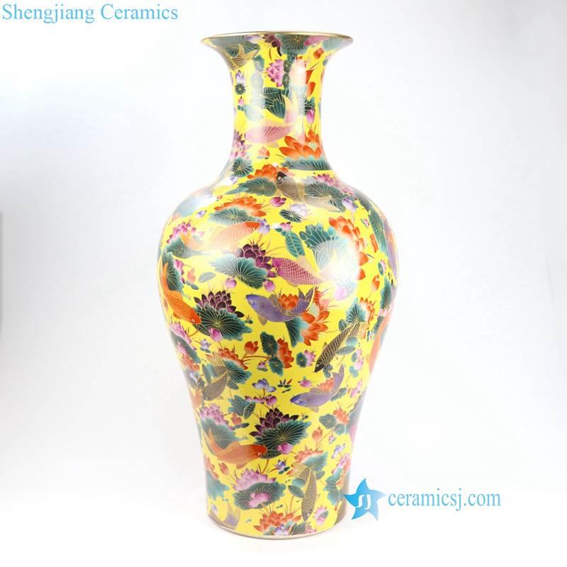 ceramic fish vase