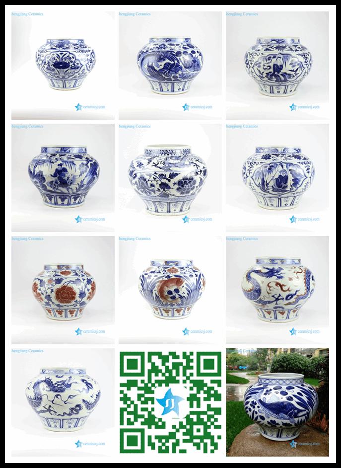 antique ceramic large volume vase