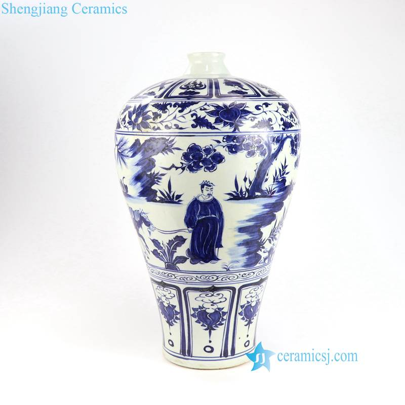 Chasing Xiaohe pattern vase