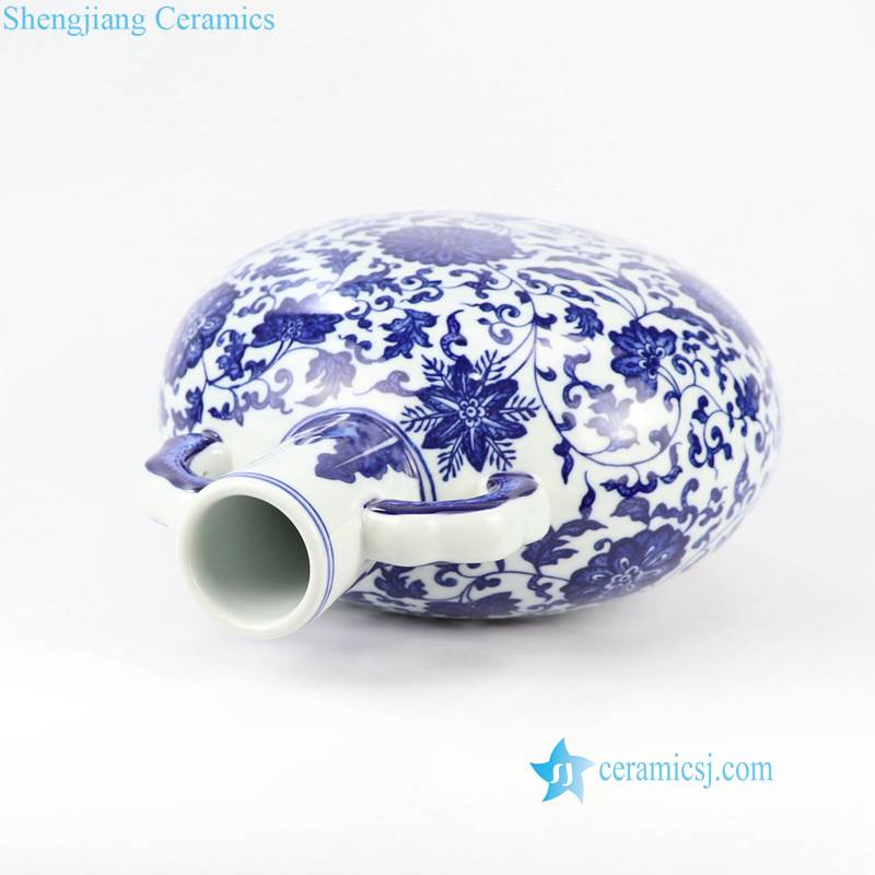 corn flower porcelain vase