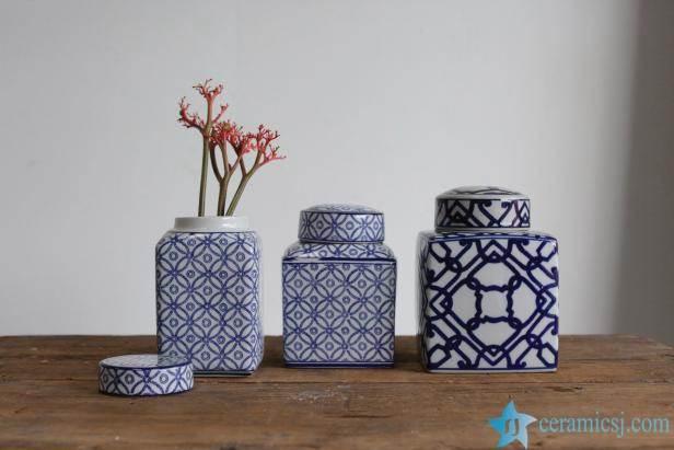 ceramic box jar