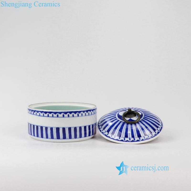 Line ceramic jar