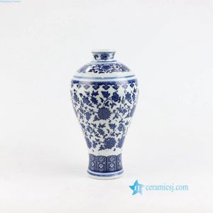 RZNV03 China cheap blue and white porcelain vase