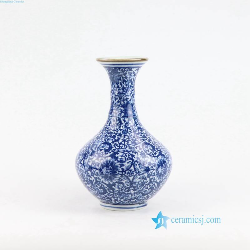 blue and white Jingdezhen vase porcelain