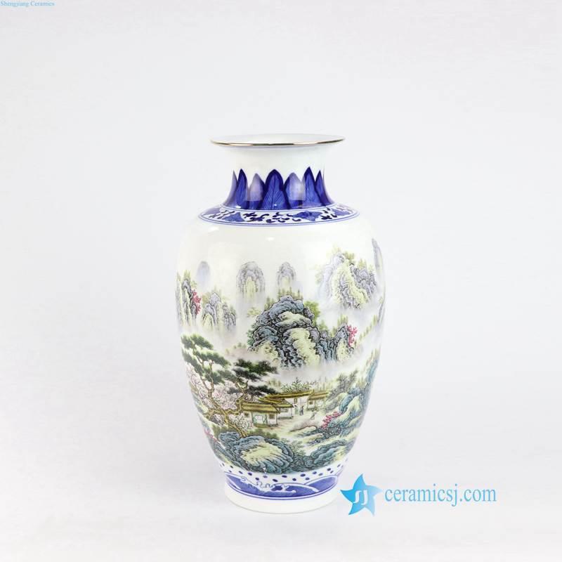 China hometown porcelain vase