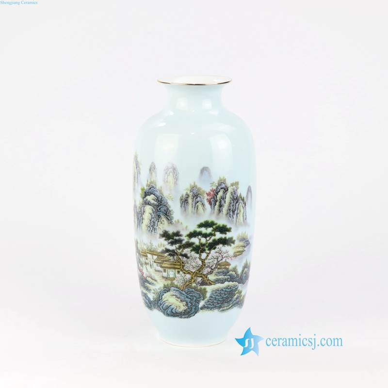 wasx gourd shape ceramic vase