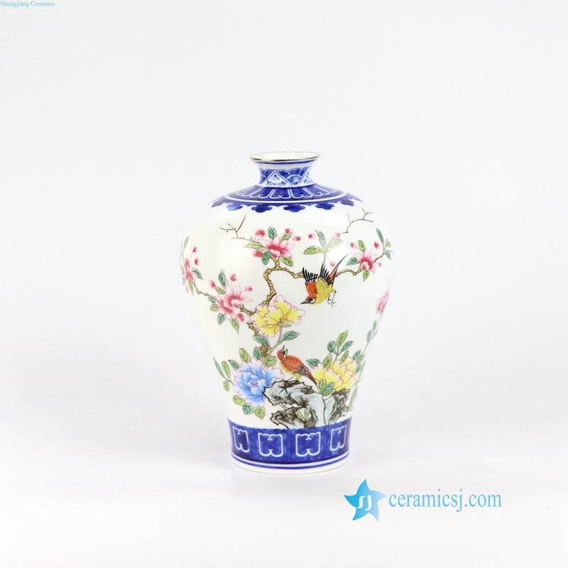 narrow mouth flower vase
