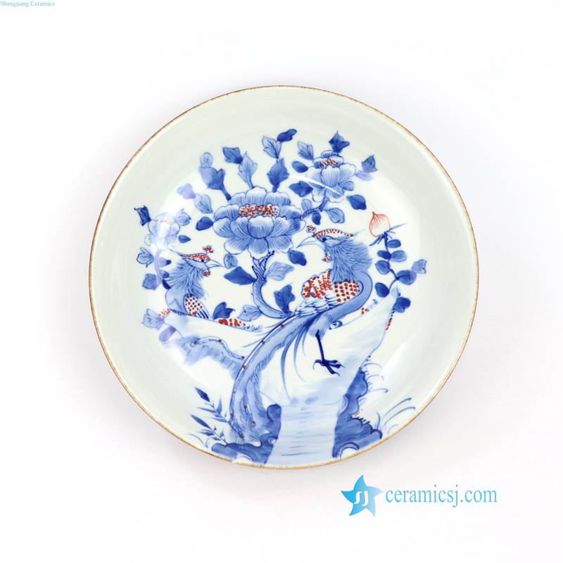floral drawing plate