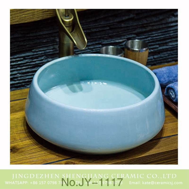 Macaroon Color Counter Top Sink