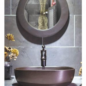 SJJY-2008-3 Square shape matt metal surface ceramic bowl for estate
