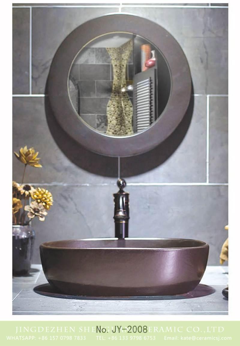 matt metal surface ceramic bowl