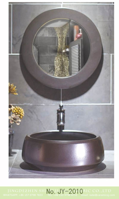 round ceramic bowl metal style