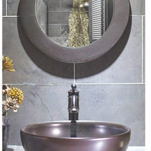 SJJY-2011-3 Bathroom matt black color ceramic bowl