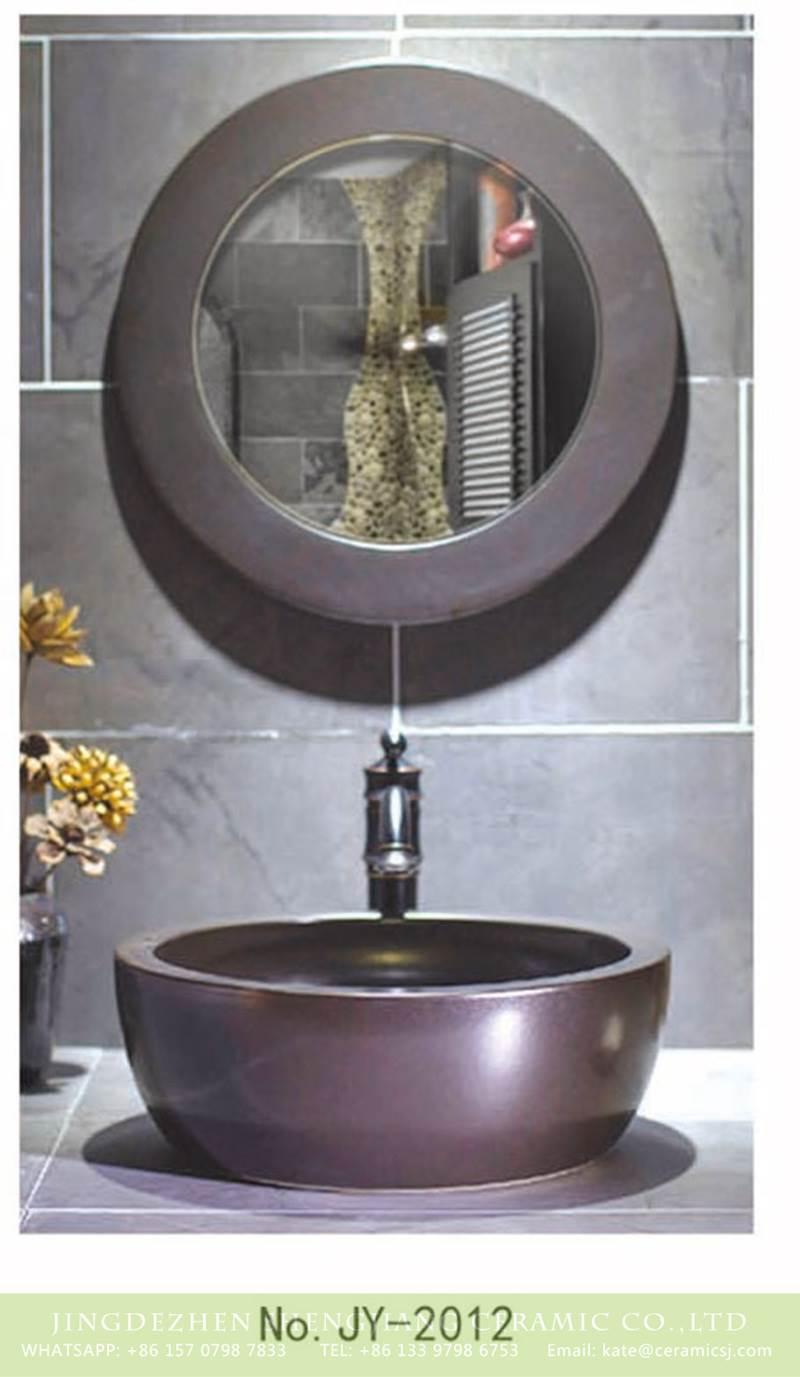 thick layer matt metal sink