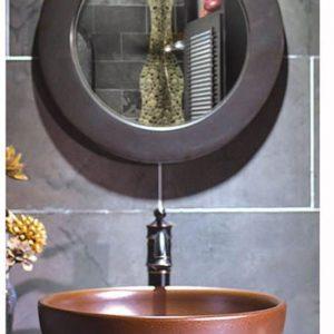 SJJY-2016-4 Kitchen metal glaze ceramic sink