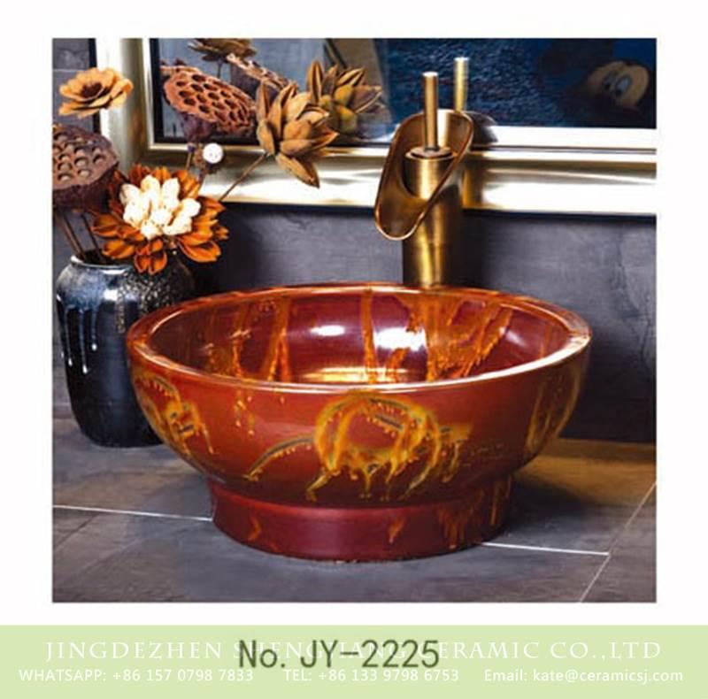 fire style ceramic sink