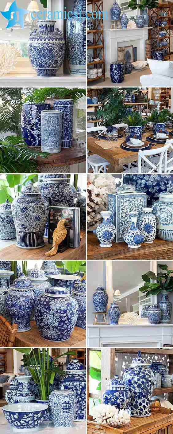 Blue-and-White Ceramic Is Back