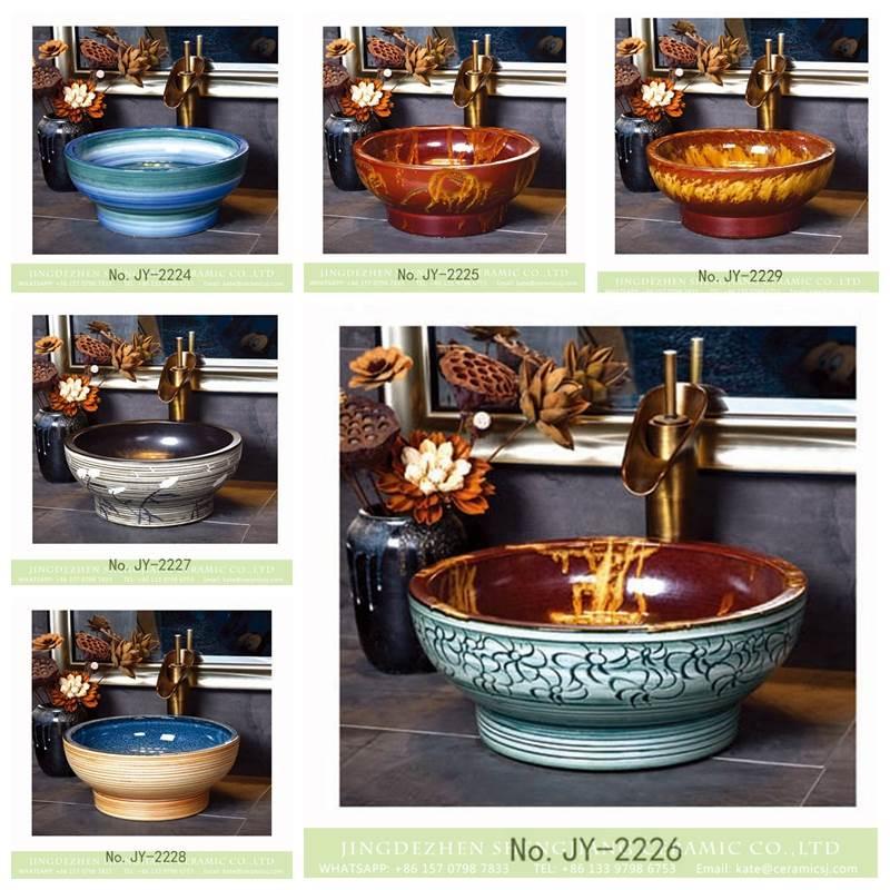 tea cup style ceramic sink