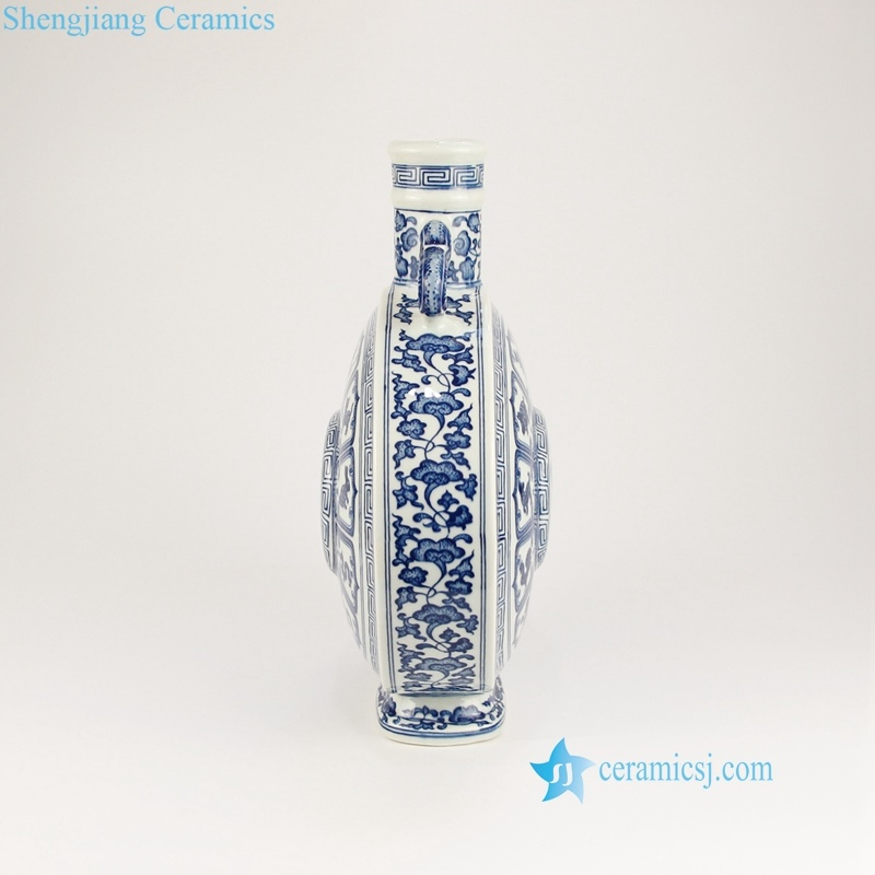 twelve Chinese zodiac signs vase
