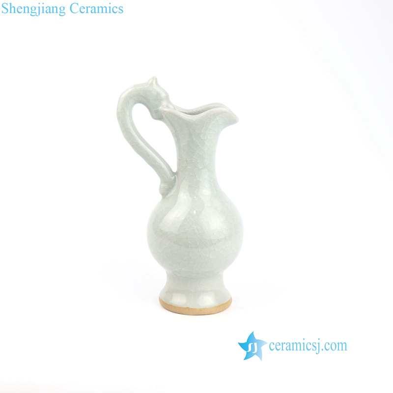 light green water pitcher