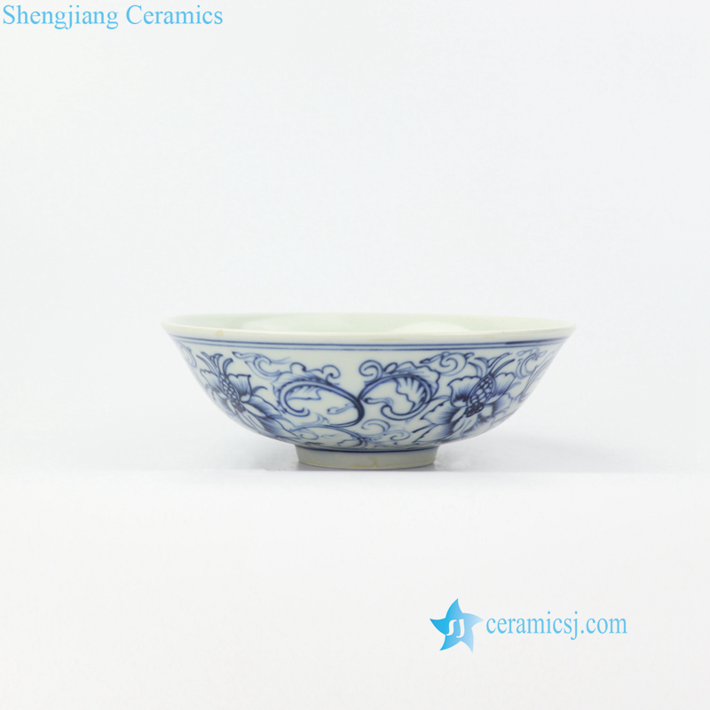 pure hand painted ceramic bowl
