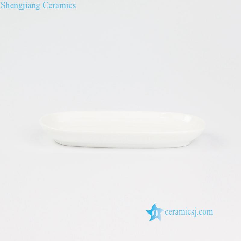 pure white ceramic plate