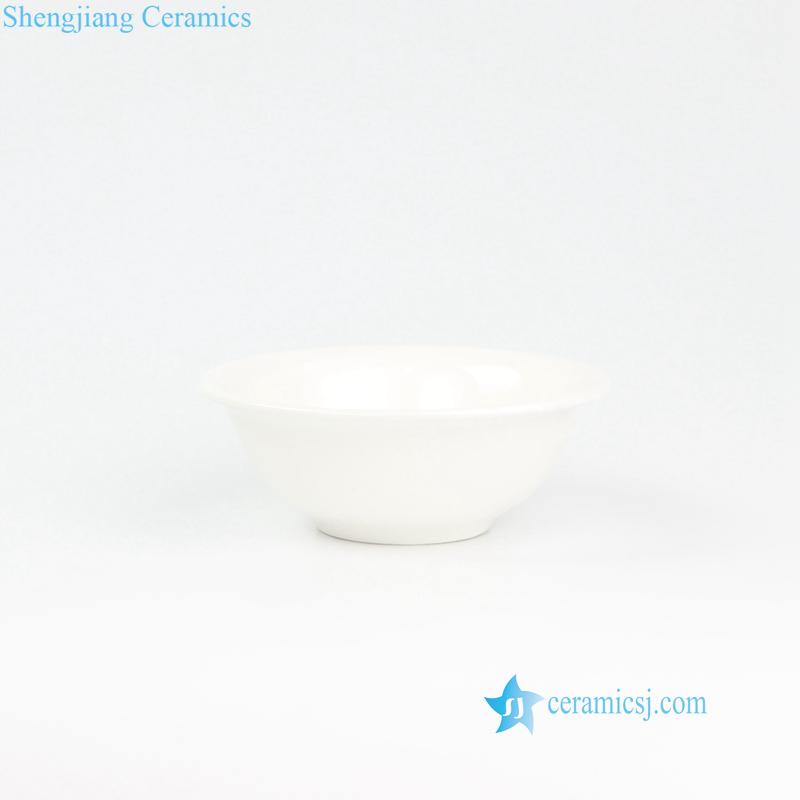 pure white ceramic bowl