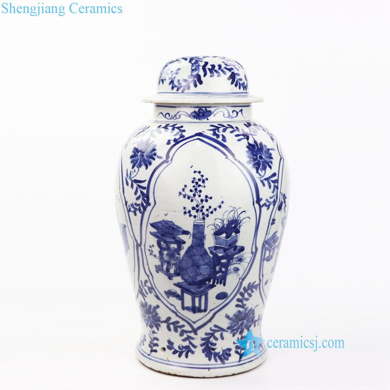 vase pattern porcelain table lamp