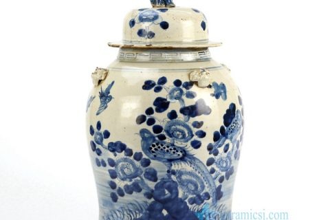Reproduction of Blue and White General Jar in Jingdezhen