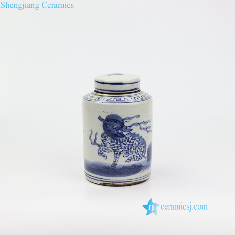 kylin porcelain jar