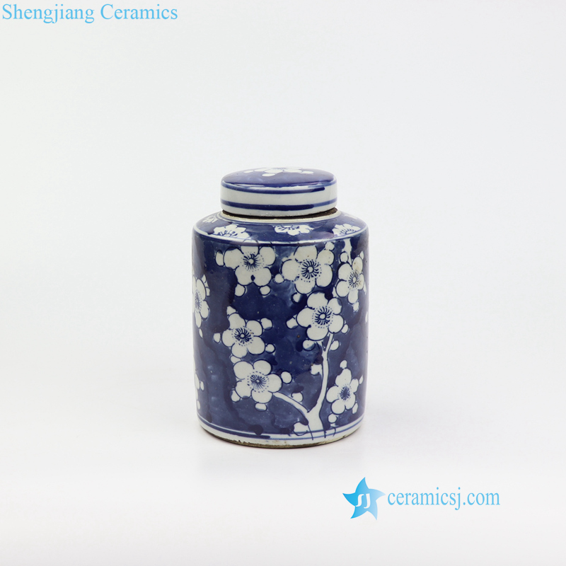 cherry blossom mini ceramic box