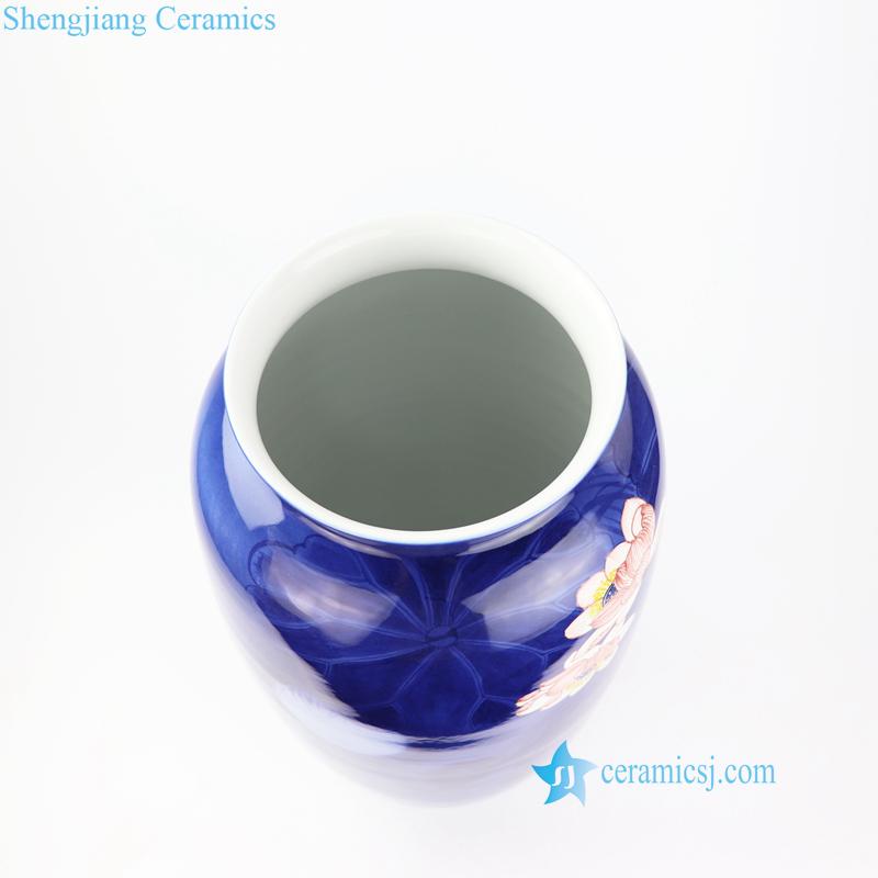 Jingdezhen artisan painted large vase
