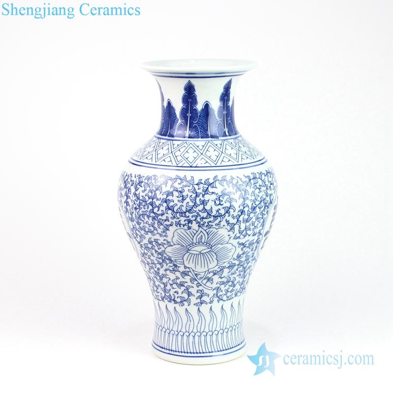 orchid ceramic vase