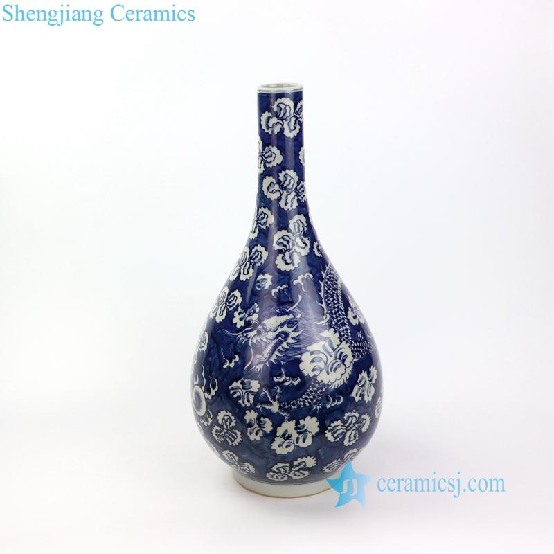 hand painting ceramic vase