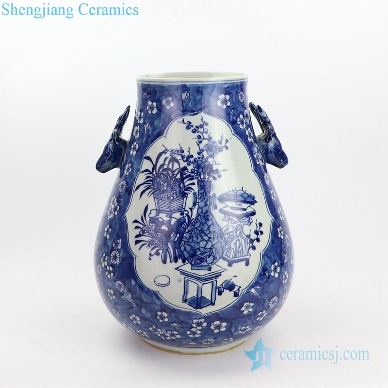 vase pattern ceramic vase