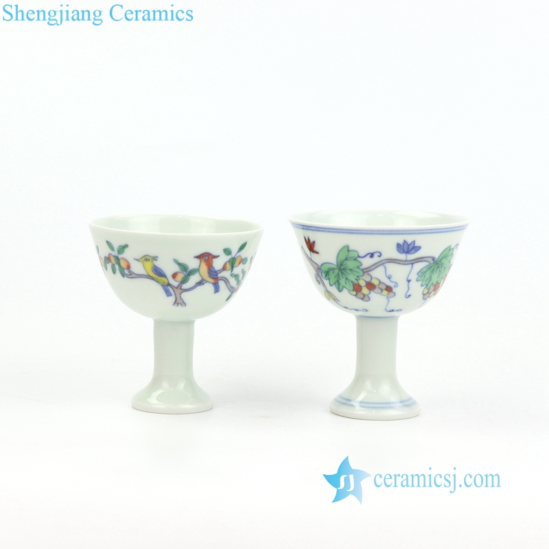 blue and white porcelain teacup