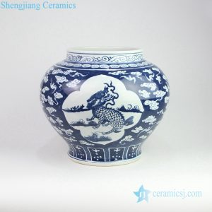 RZOY15 China unicorn high hand paint skill porcelain vase